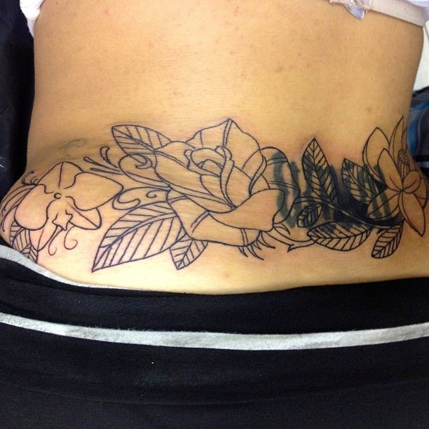17 best lower back cover up tattoo designs images on pinterest back tattoos for girls female. Black Bedroom Furniture Sets. Home Design Ideas