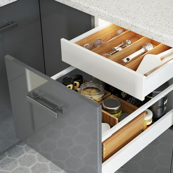 Best The Drawer Within A Drawer Feature In The Ikea Sektion 400 x 300