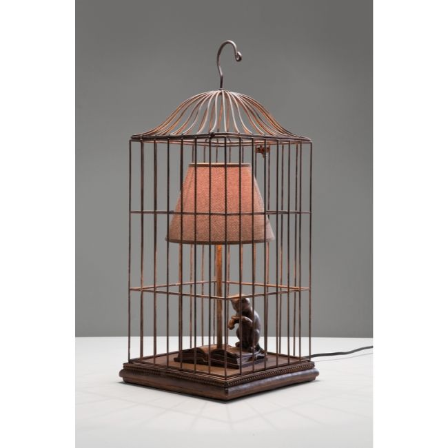 Cat In a Cage Bordslampa - TheHome.se