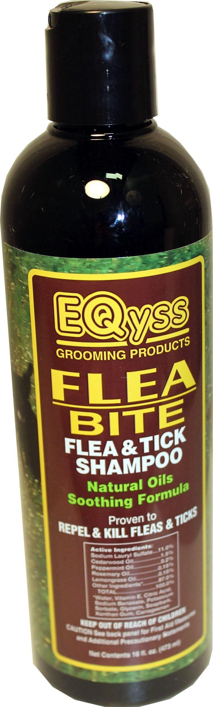Eqyss Grooming Prod D-Flea Bite Shampoo 16 Oz
