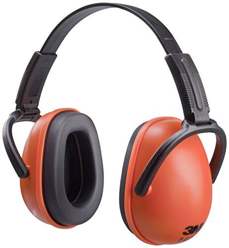 From 5.03 3m 1436 C1 Foldable Ear Muffs - Orange