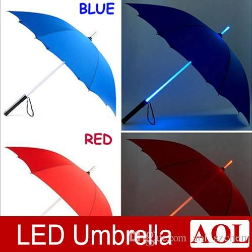 Wholesale cheap led umbrella online, nylon   - Find best  5pcs/lot new arrival led umbrella blade runner style light umbrella 5 change color high quality romantic umbrella in rain christmas gift at discount prices from Chinese umbrellas supplier - aol_szchen on DHgate.com.