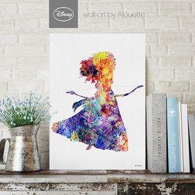 Princess Merida Disney Wall Art - Poster Α3