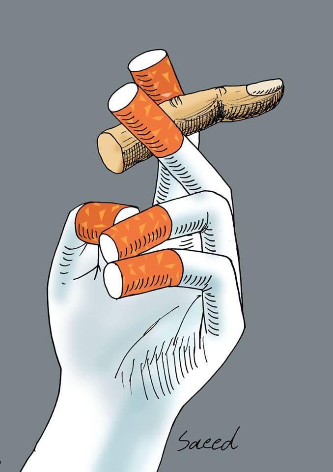 Journée sans Tabac via http://www.saeedartoon.blogfa.com/