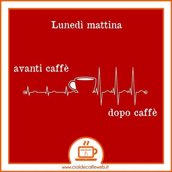 #lunedi mattina se non ho un #caffè mi sento una.... Allora mi ricarico con un rapido e buonissimo#caffeincialde
