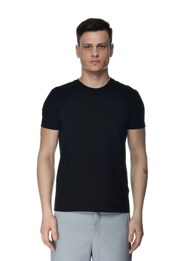 Filippa K - Spring Summer 2015 - Menswear // Black Soft Lycra T-Shirt