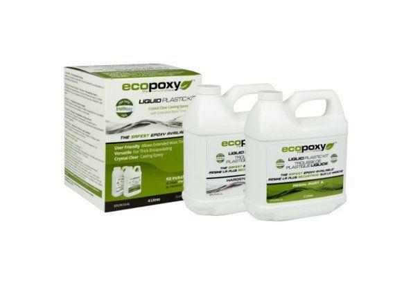 Ecopoxy Liquid Plastic 4 Lt Kit 1:1 Ratio in 2019   Products