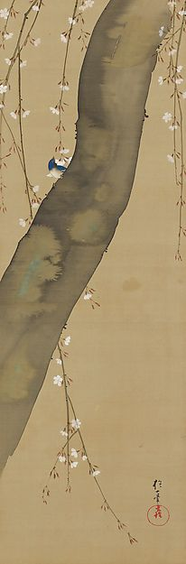 March - Sakai Hōitsu (1761-1828) - Birds and Flowers of the Twelve Months