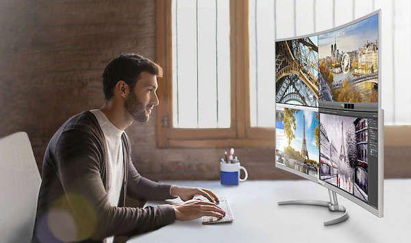 Philips BDM4037UW, un monitor de 40 pulgadas curvo y con 4K