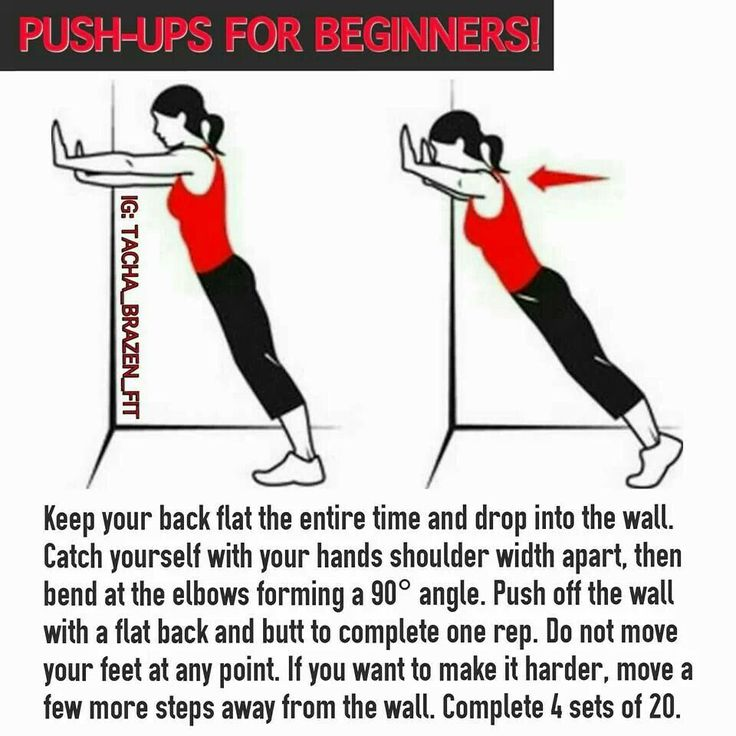 push-ups for beginners