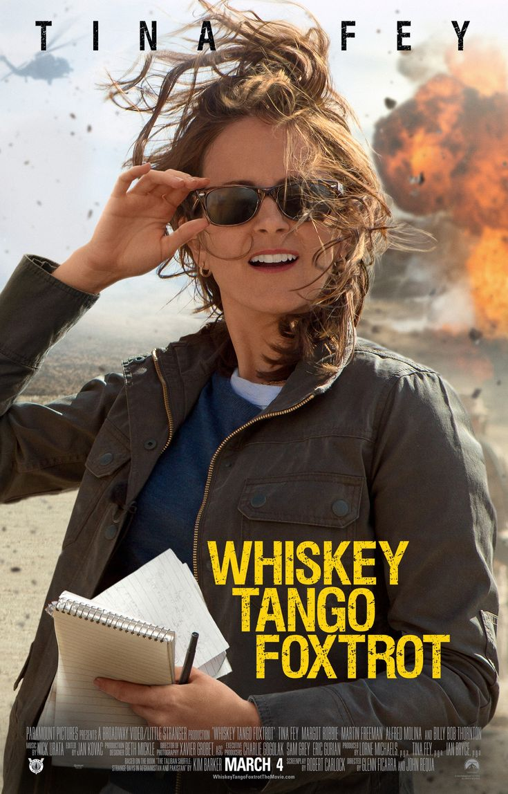 Whiskey Tango Foxtrot [] [2016] [] http://www.imdb.com/title/tt3553442/?ref_=vi_tr_mp_l_8 [] official trailer [151s] https://www.youtube.com/watch?v=dxAcIWDi8ps []