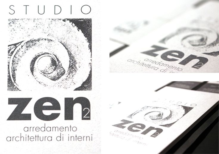 Logo studio Zen By CREA OFFICINA