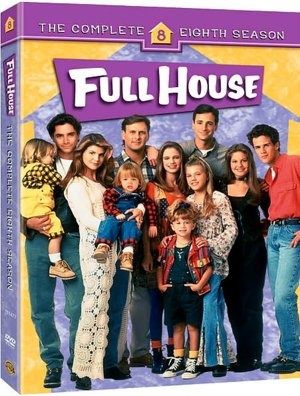 Full House - Season 8. The only season I don't have on DVD. When I get $30 I'm spending it on this!