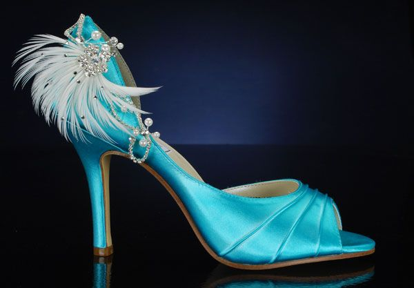 """Benjamin Walk shoe """"Flash"""" dyed and embellised. 