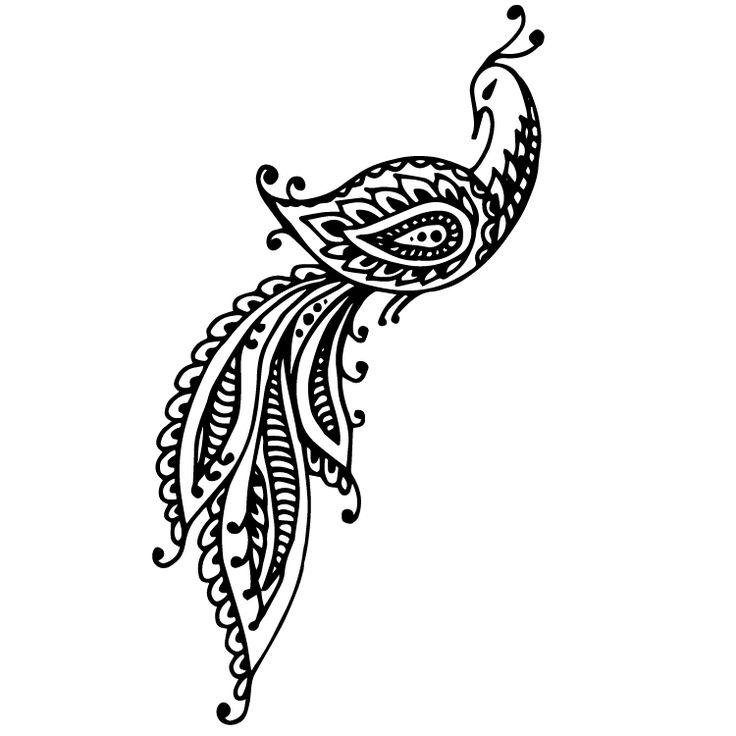Henna Design Temporary Tattoos #628