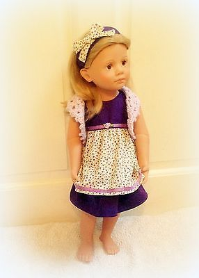 "18""/20""doll outfit#happykidzandsimilar#pixiefaire.com#patterns123mulberrystreet#mapetitecouture#hairbandmydesign!"