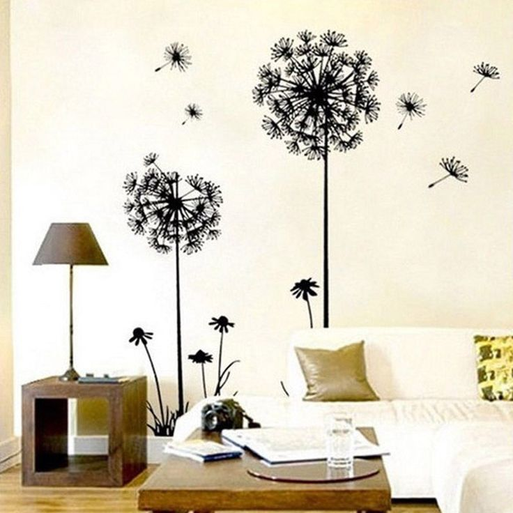 1PC New Arrival Creative Dandelion Removable Wall Stickers Mural PVC Home Decor Wall Stickeres for Your Home Hot Sale ** Find out more by clicking the VISIT button