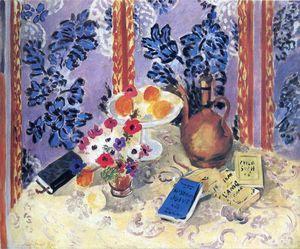 nature morte - (Henri Matisse)                                                                                                                                                                                 Plus