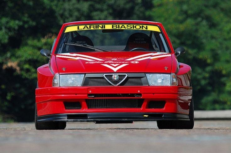 Alfa Romeo 75 Turbo Imsa [pinterest - Iconoclast7]