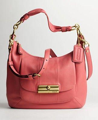 Super cute Coach handbag, I love the color!