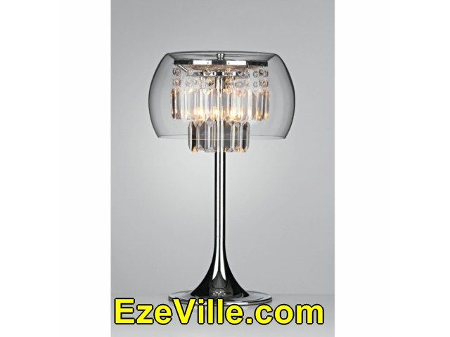 Awesome  Contemporary Table Lamps With Glass Shades001