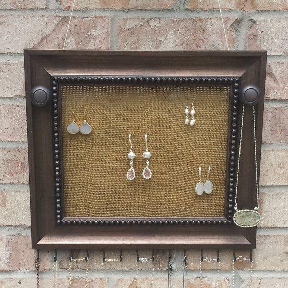 Best 25 Hanging jewelry organizer ideas on Pinterest Jewelry