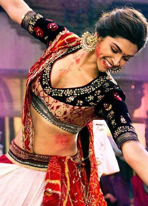 Deepika Padukone in Holi Colors
