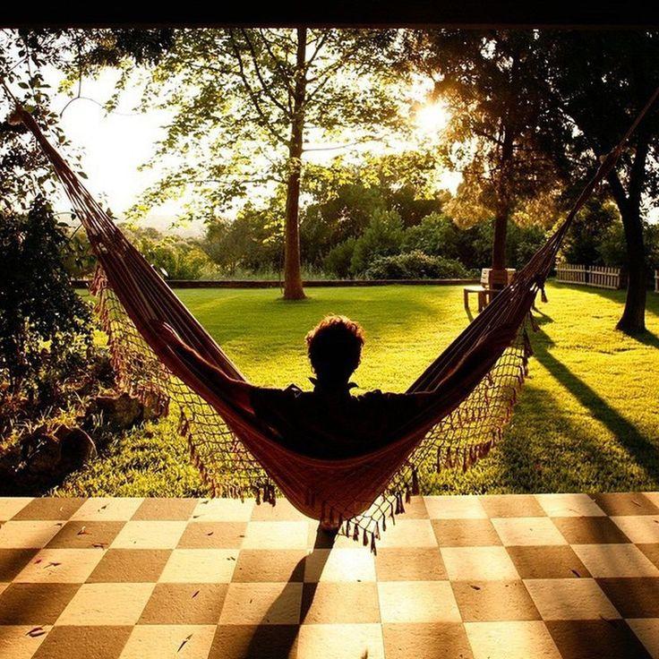 Безмятежного отдыха @house_decor_design #гамак #природа #релакс #выходные #отдых #galleria_arben #отдых #настроение