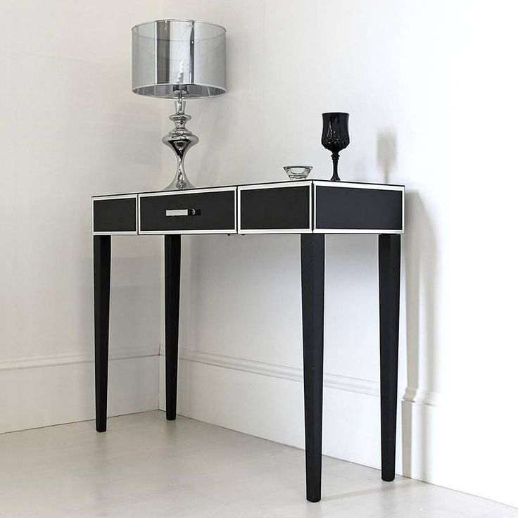 Best Black Glass Console Or Dressing Table Crafts Diy 400 x 300