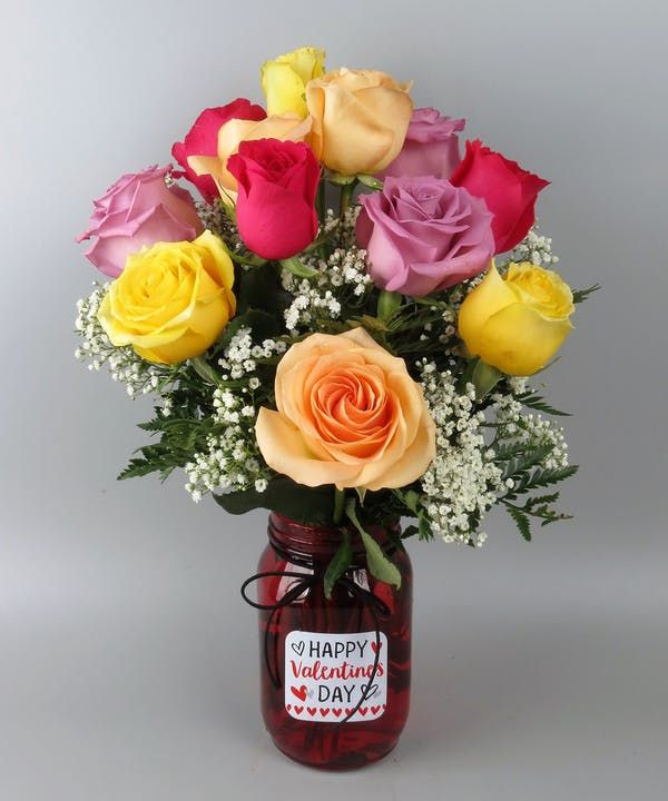 Show Your Romantic Side By Sending This Gorgeous Bouquet Of Hot Pink Roses Peach Roses Lavender Rose Valentines Roses Same Day Flower Delivery Hot Pink Roses