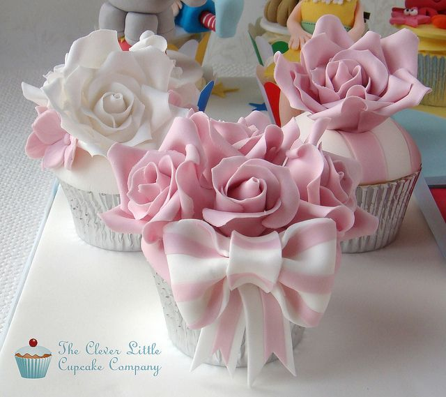 Cake International Entry - Roses by The Clever Little Cupcake Company (Amanda), via Flickr