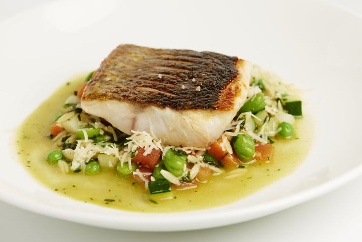 This beautiful sea bass recipe from the Galvin brothers is a summer recipe through and through. Pistou itself is a French form of pesto, in this case served stirred into a soup made from summer vegetables.