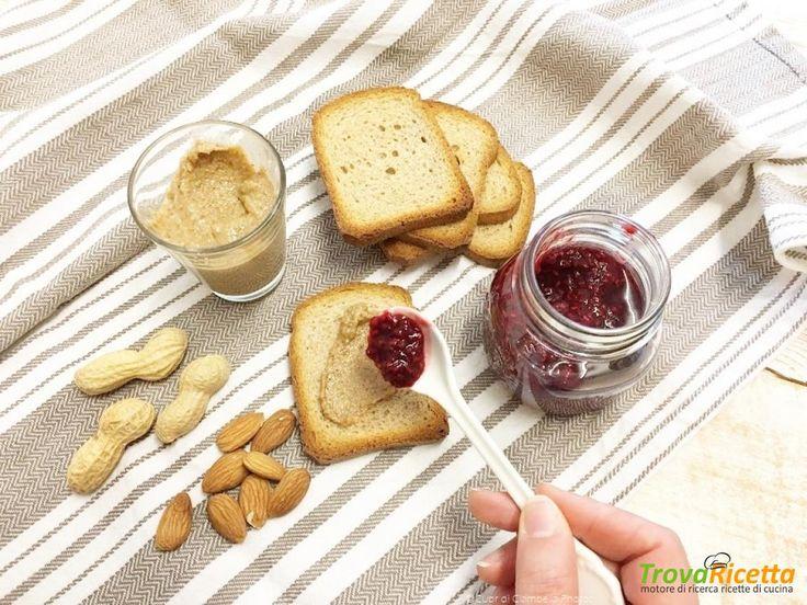 Burro di Arachidi, Mandorle e Semi di girasole e Confettura velocissima di Lamponi! (colazione con le proteine vegetali)  #ricette #food #recipes
