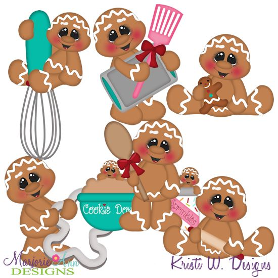 Baking Fun Gingers~SVG-MTC-PNG plus JPG Cut Out Sheet(s) Our sets also include clipart in these formats: PNG & JPG