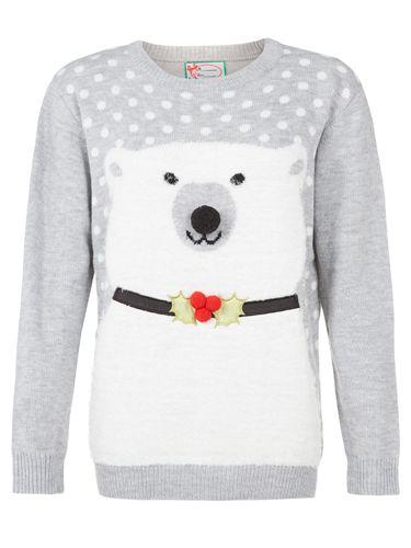 christmas jumpers primark women's christmas jumpers polar bear women's cheap clothing - cosmopolitan.co.uk