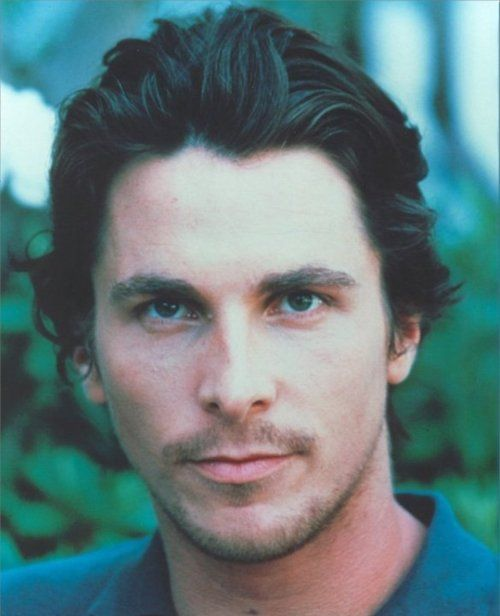 Boyish looking in this pic, but hot as always...Christian Bale Photoshoot