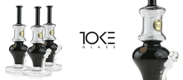 Visit our website and check out our beautiful selection of glass water pipes all made CALIFORNIA #TokeGlass #US #Bong #420 #710 #Cannabis #Glass #Pipe  instagram  @Toke_Glass