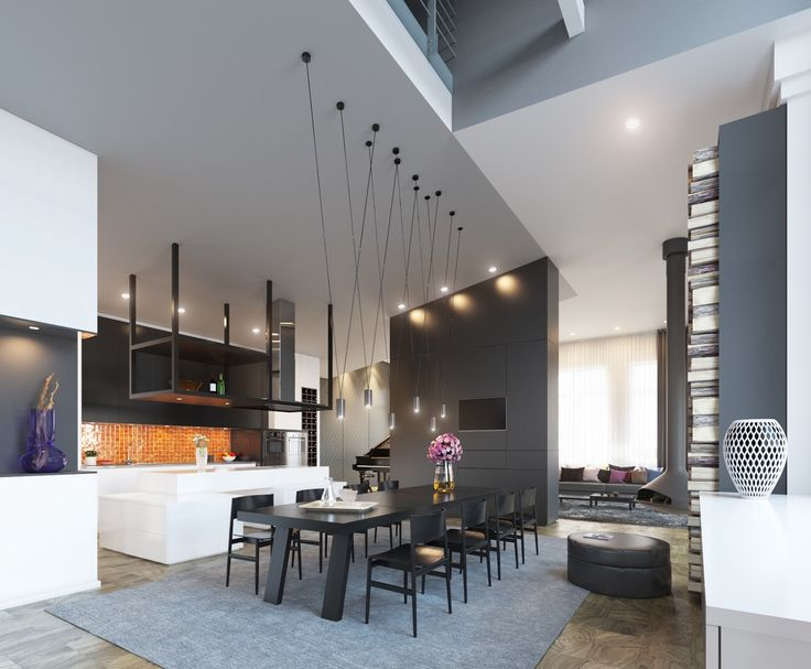 50 Strikingly Modern Dining Rooms That Inspire You To: 728 Best Images About Dining Room Designs On Pinterest