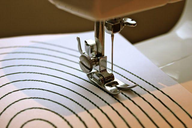 Clase de costura 10. Comenzar a coser a máquina: costura lineal, costura en esquinas y costura en curva. | Aprender manualidades es facilisi...