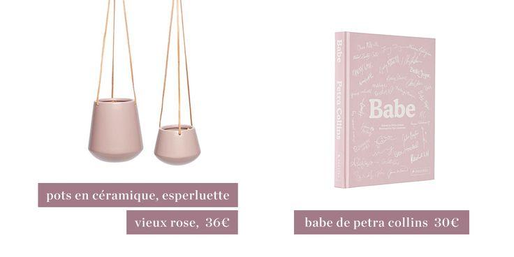 Tendances rosées de mars decoration, pink, babe, book, livre, tendances, ceramics