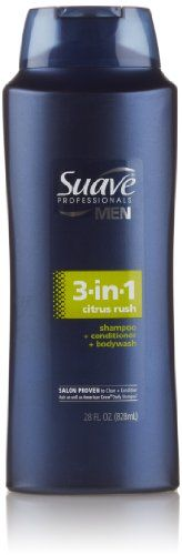 Suave Professionals Men 3-in-1 Shampo…