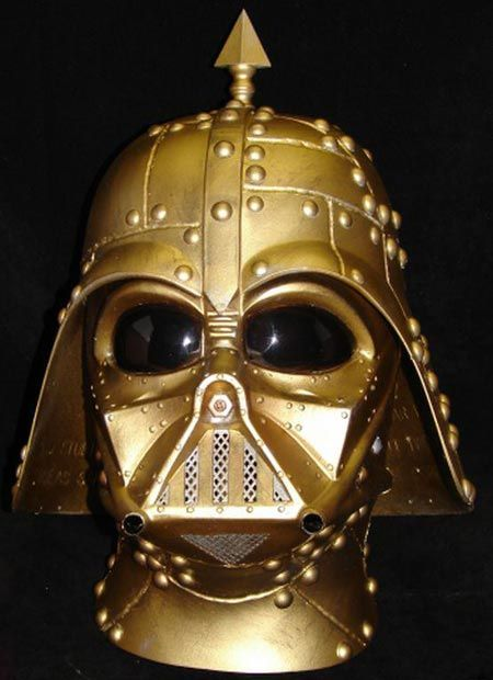 steampunkvader: Darth Vader, Steampunk Darth, Disney World, Helmets, Steam Punk, Steampunk Stars War, Steampunk Vader, Father, Starwars