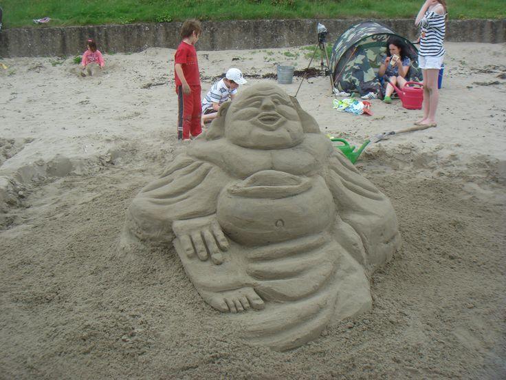 Buda Buddy in the sand!