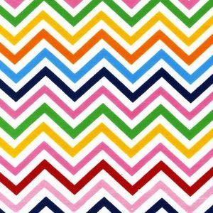 Ann Kelle - Remix Knits - Zig Zag Stripe in Bright.  Perfect for a spring maxi dress.