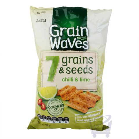 7 Seeds & Grains Chips – Chilli Lime Grain Waves – 140g | Shop New Zealand NZ$5.9
