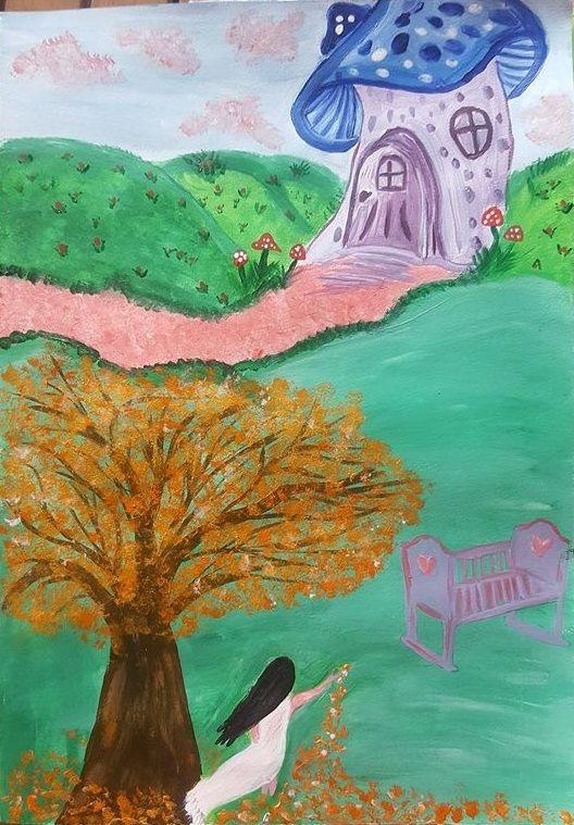 Entry 26: 'Violetta' by Nita Thomas, adult  #fantasy #art