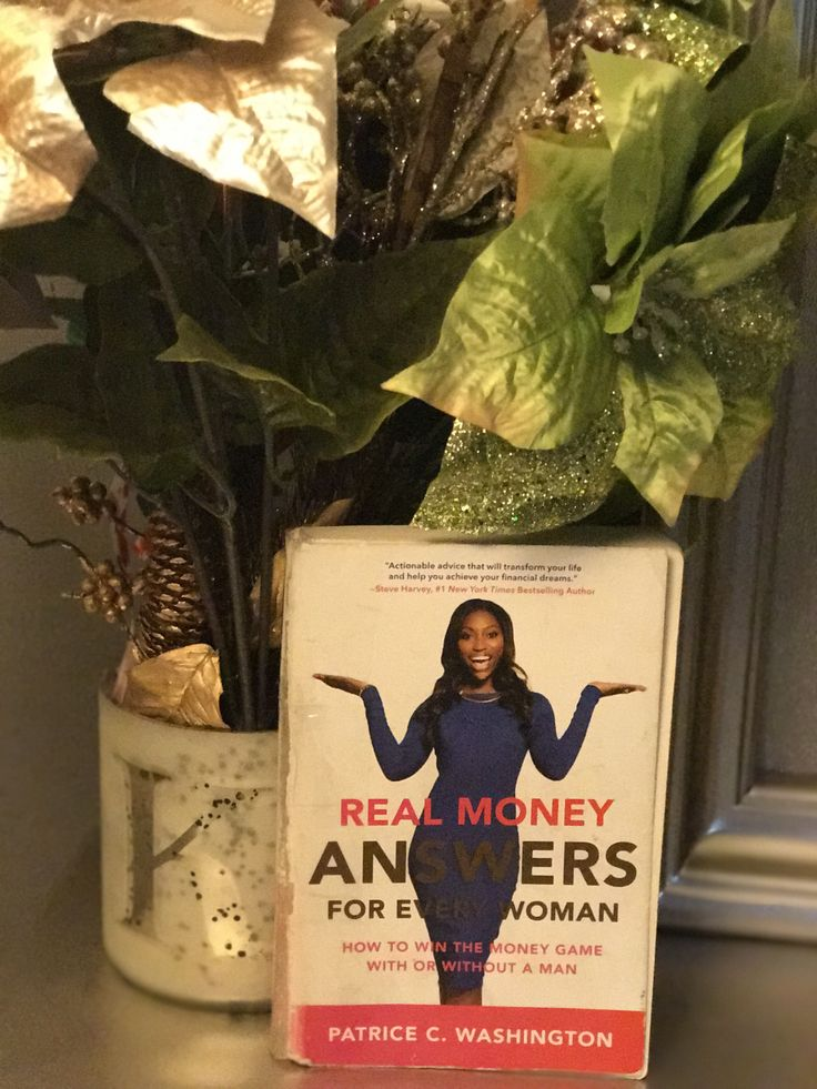 """Its April y'all- TAX DEADLINE!! It's time to talk about finances! We will be reading """"Real money answers for every woman: How to win the money game with or without a man&#82…"""