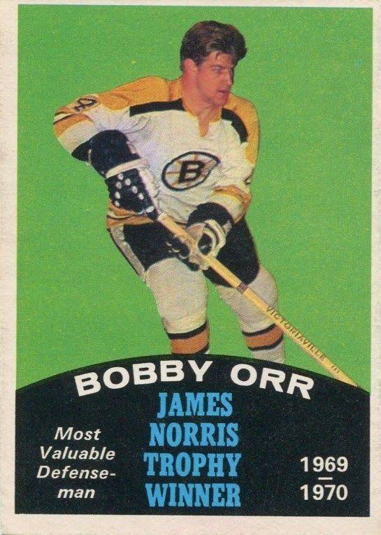 bobby orr boston bruins norris trophy