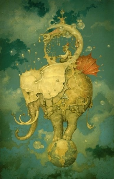 Sometimes the world can feel like a gigantic elephant is trampling all over it.