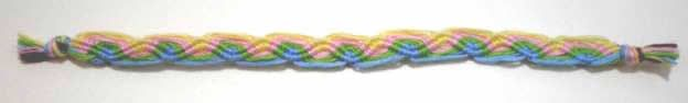 I used to have the most amazing friendship bracelet book - this was always my favourite design.